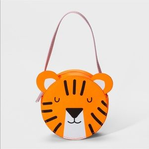 NWT Cat & Jack Girls Tiger Purse